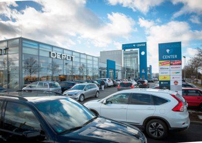 Lechland-Center-Parkplätze